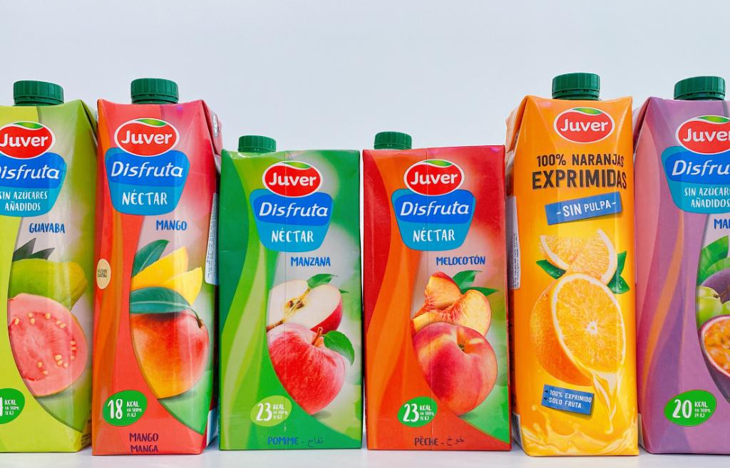 Nước ép trái cây nhập khẩu Tây Ban Nha - Juver