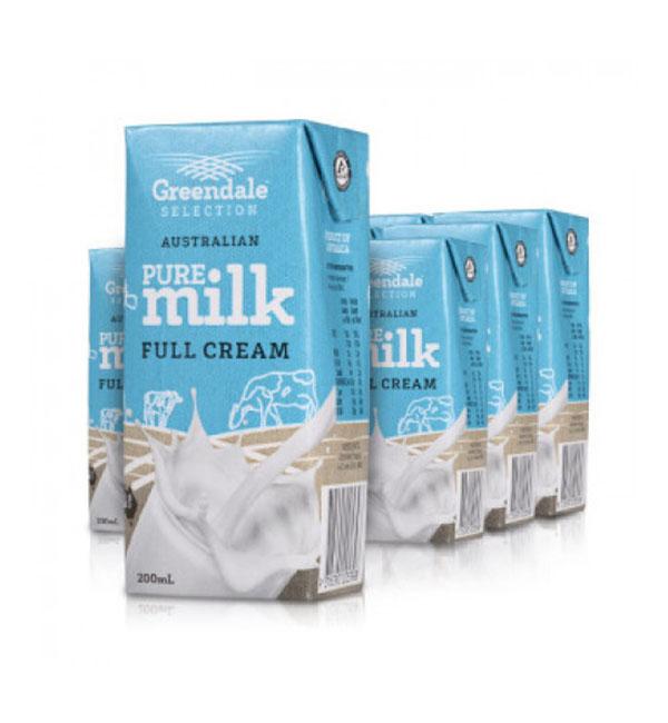 Sữa tươi Úc nguyên kem hộp 200ml tiện lợi