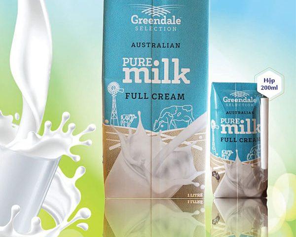 Sữa tươi Úc nguyên kem Greendale