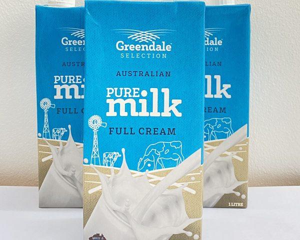 Sữa tươi Úc nguyên kem dạng nước Greendale