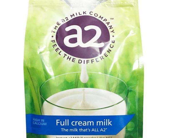 Sữa tươi Úc nguyên kem dạng bột A2