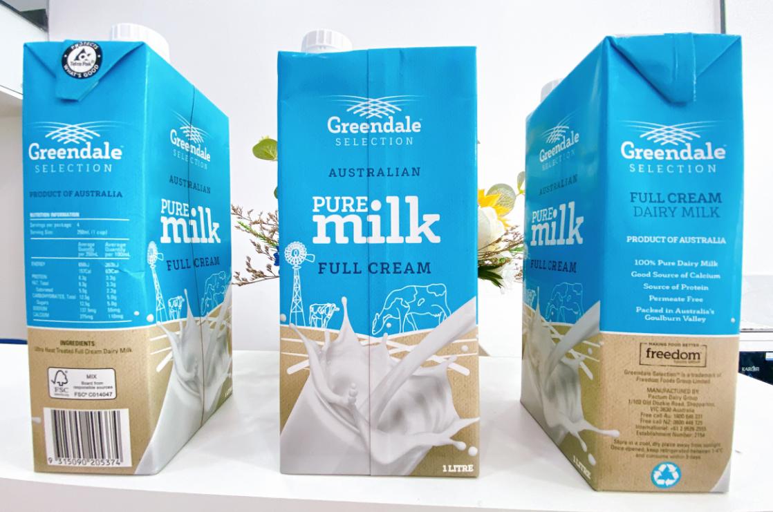 Sữa tươi Úc nhập khẩu chính ngạch – Sữa tươi nguyên kem Greendale