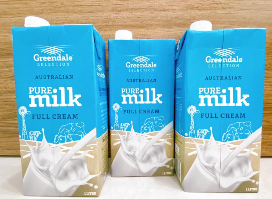 Sữa tươi nguyên kem Úc GREENDALE PURE