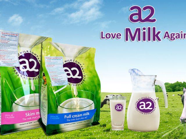 Sữa tươi Úc dạng bột A2