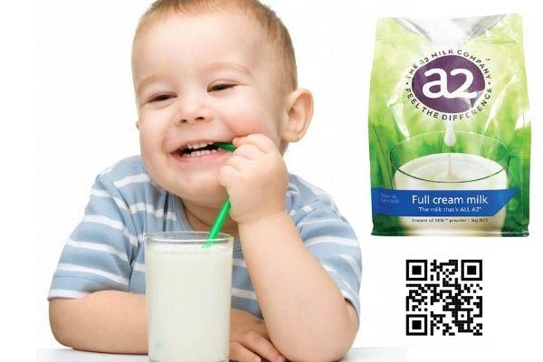 Sữa tươi Úc rất tốt cho sự phát triển của trẻ