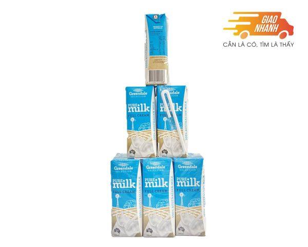 Sữa tươi Úc loại 200ml cho các bé