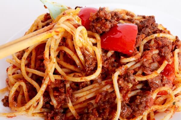 Cách làm mì ý sốt cà chua